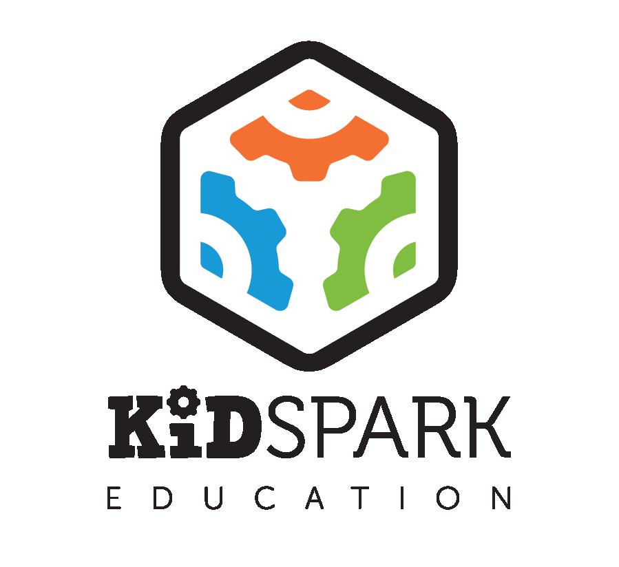 Kid Spark Logo (Vertical - Full Color)
